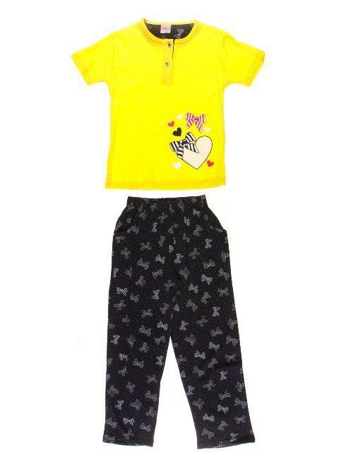 Купить Пижама детская для девочек Mirano 4613 желтая Mirano Пижамы ... 104a57d13f444
