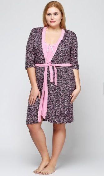 83d38a1fa9c64 Купить Женская ночная рубашка и халат Nebula 807E, вискоза (807E ...