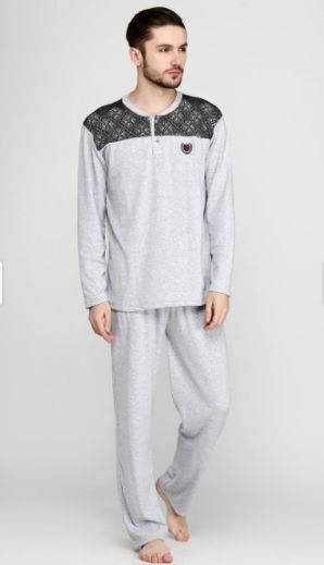 Купити Пижама мужская Falkom 6355 сірий Falkom Чоловічі піжами 490 грн    Київ f9a77fae3444e