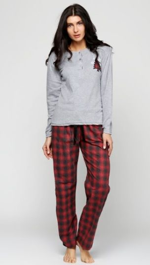 Купить Пижама женская Estiva 17313 серый Estiva Женская пижама 399 ... 98082b2b7acff