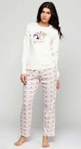 Купить Пижама женская Fawn 543 молочный Fawn Женская пижама 399 грн   Киев 25f3c942fbce2