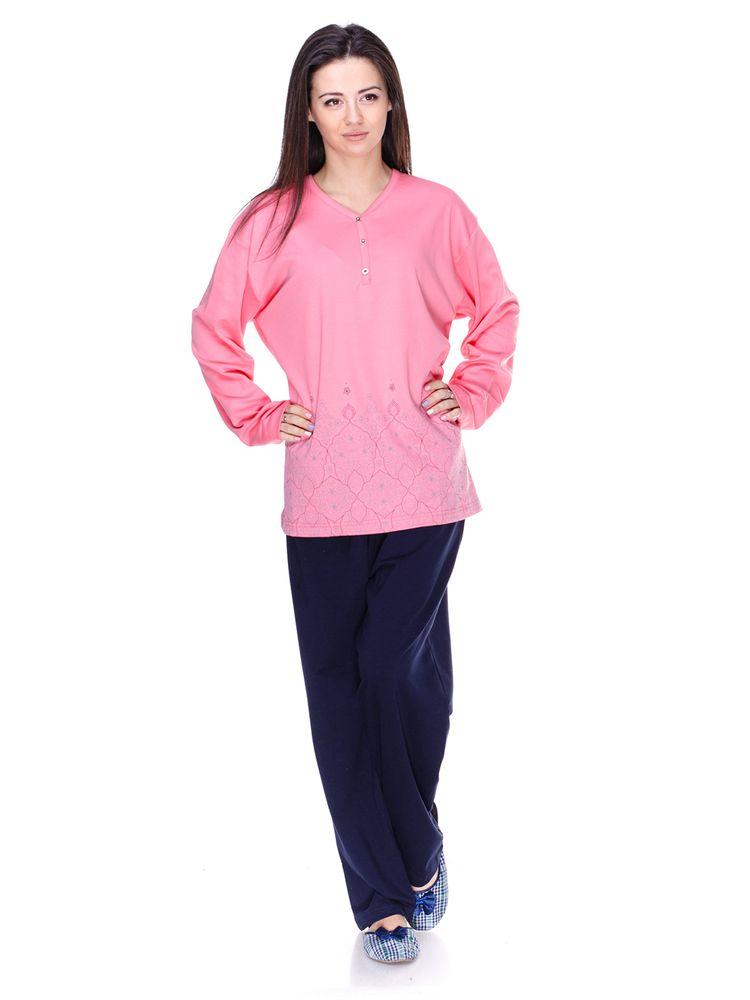 Купить Пижама женская Fapi 5355 розовый Fapi Женская пижама 536 грн ... cae4f3d636711