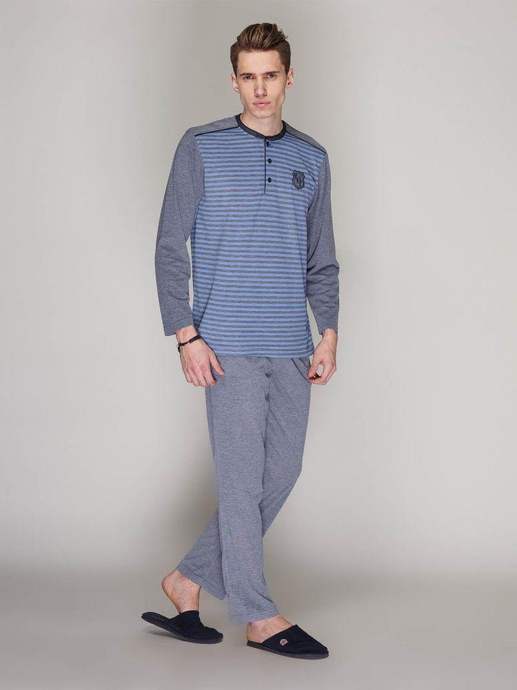 Купити Пижама мужская Athletic Team 528 синій Athletic Team Чоловічі ... 44396ce2a06e2