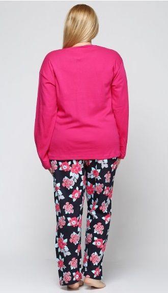 Купити Піжама жіноча великих розмірів Estiva 16312 фуксія Estiva ... 89262cc5e8002