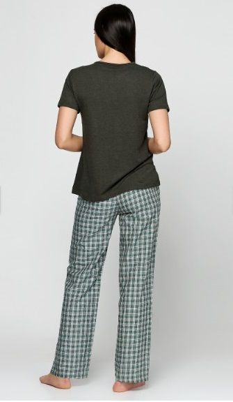 Купить Женская пижама Bambaska 1018 зеленый Bambaska Женская пижама ... 6d15808e54143