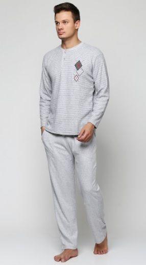 Купити Піжама чоловіча Falkom 6432 сірий Falkom Чоловічі піжами 490 грн    Київ b99a3fb157797