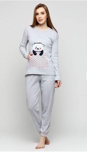Купити Піжама жіноча Fawn 587 сірий Fawn Жіночі піжами 399 грн   Київ e409e6b635bbf