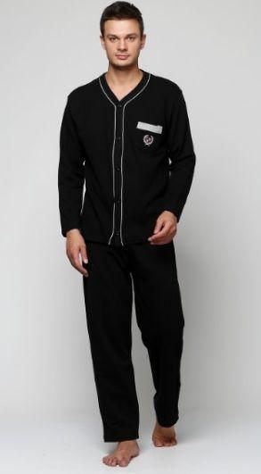 Купить Пижама мужская Falkom 1756-1 черная Falkom Мужская пижама 490 ... 77b22a898d72c