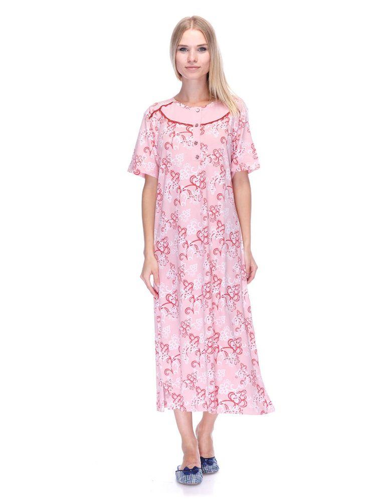 4b284499d6eeb Купить Женская ночная рубашка IKI YDL 44653 розовый 474 грн (44653 ...