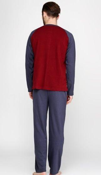 Купити Піжама чоловіча Falkom 6362 бордова Falkom Чоловічі піжами ... ce2348f8aa8f1