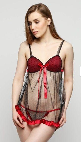 Купить Пеньюар Bellezza 611 красный Bellezza Пеньюар 226 грн   Киев ... 33f08385c1c1d