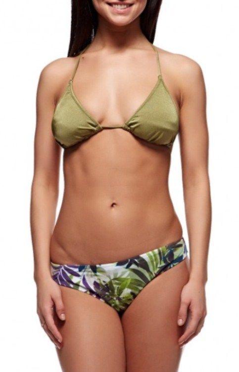 Купити Раздельный купальник Esta 12167 зеленый Esta Купальники 226 грн    Київ 8405e656dfe41