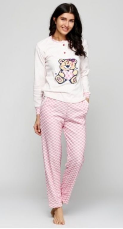 Купити Піжама жіноча Fawn 535 рожевий Fawn Жіночі піжами 399 грн   Київ 6ff037bee1654