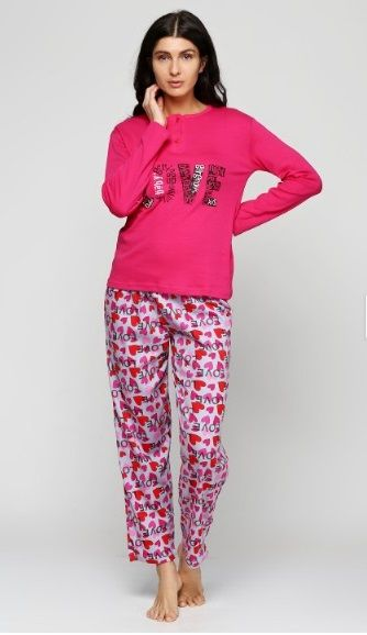 Купить Пижама женская Estiva 16302 фуксия Estiva Женская пижама 399 ... 417842210ef25