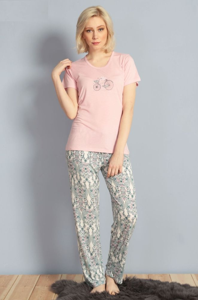 Купить Пижама женская Kezokino 610029 персиковый Kezokino Женская ... 5519df35399a5