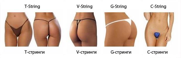 Как одевать женские стринги купить массажер простаты тонкий